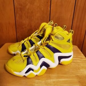 Adidas Kobe Crazy 8 Lakers color yellow shoes 9.5